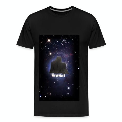 MoVeMenT Galxien Shirt - Männer Premium T-Shirt