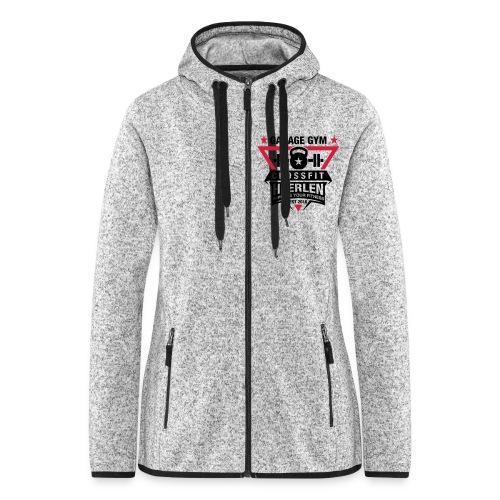Vrouwen hoodie fleecejack