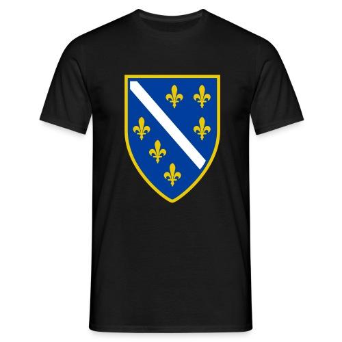 Bosnien, altes Wappen - Männer T-Shirt