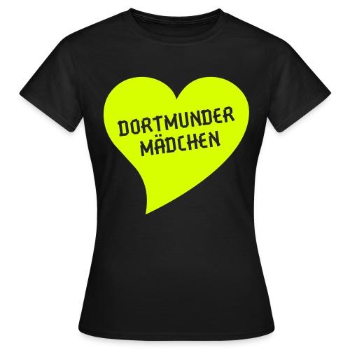 DORTMUNDER MÄDCHEN SHIRT - Frauen T-Shirt