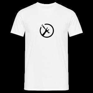 Drummers Metal Fork T-Shirts - Männer T-Shirt