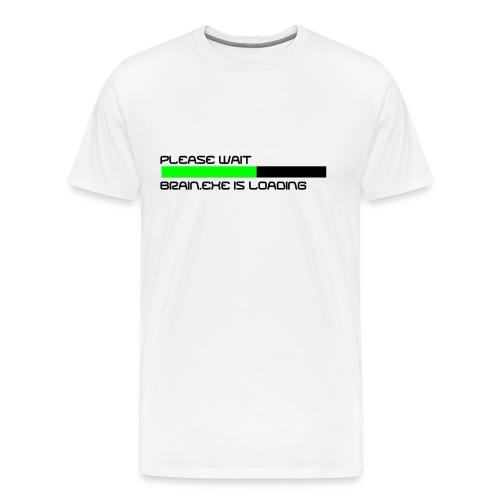 Brain.exe - Männer - Männer Premium T-Shirt