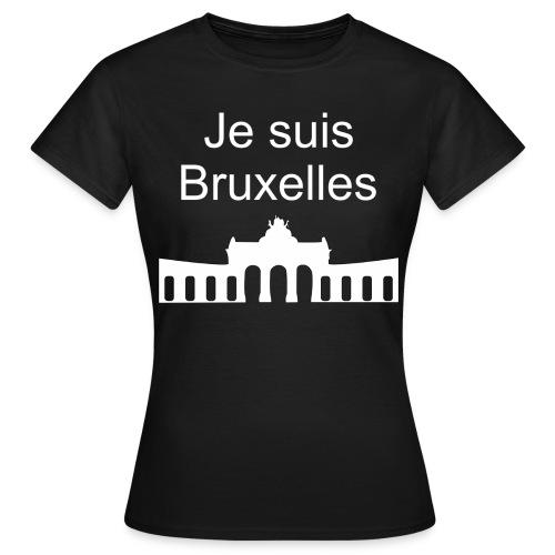 Je suis Bruxelles - Frauen T-Shirt