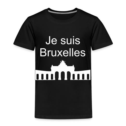 Je suis Bruxelles - Kinder Premium T-Shirt