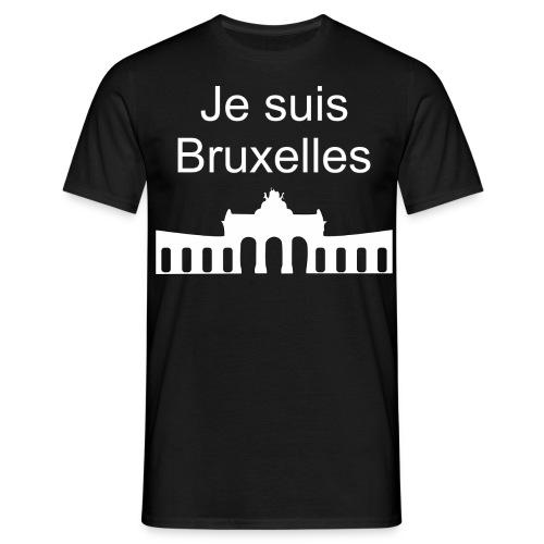 Je suis Bruxelles - Männer T-Shirt
