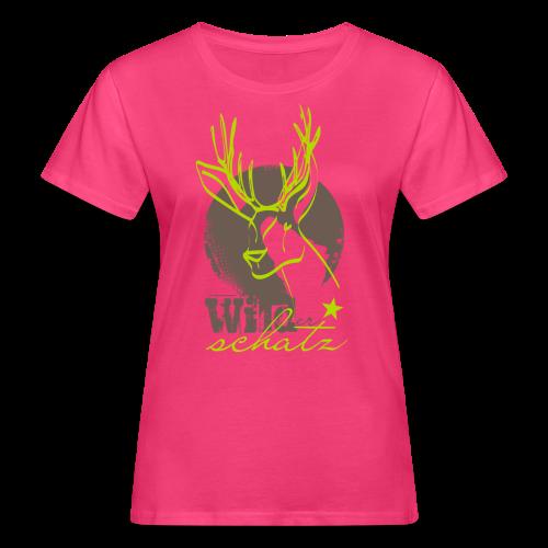 Wilder Schatz Rehbraun - Frauen Bio-T-Shirt
