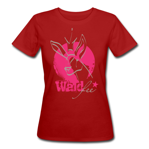 Waldfee Waldbeere - Frauen Bio-T-Shirt
