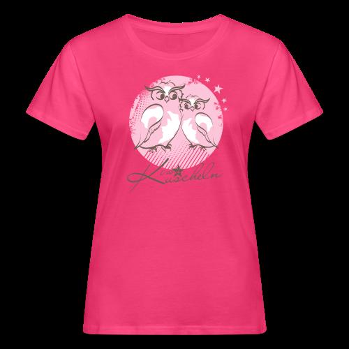 Kuscheln - Frauen Bio-T-Shirt