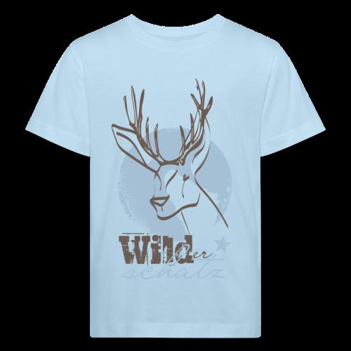 Wilder Schatz Vergissmeinnicht - Kinder Bio-T-Shirt