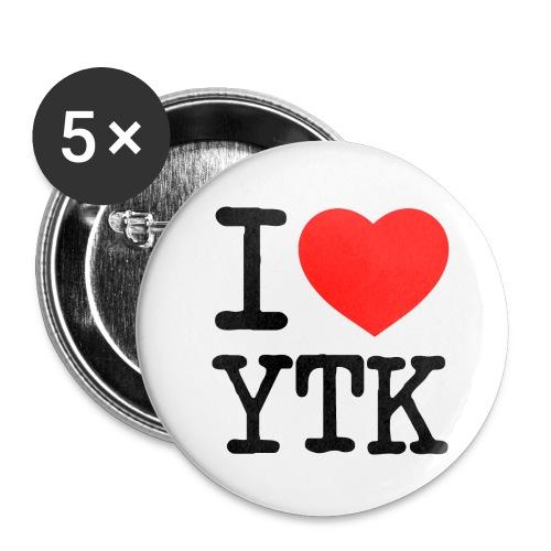 I heart YTK Buttons - Buttons mittel 32 mm