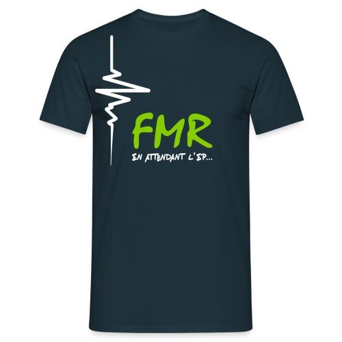 T-shirt FMR En attendant l'EP - Homme Uniquement - Design Vert & Blanc - T-shirt Homme