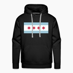 Flag of Chicago Hoodies & Sweatshirts