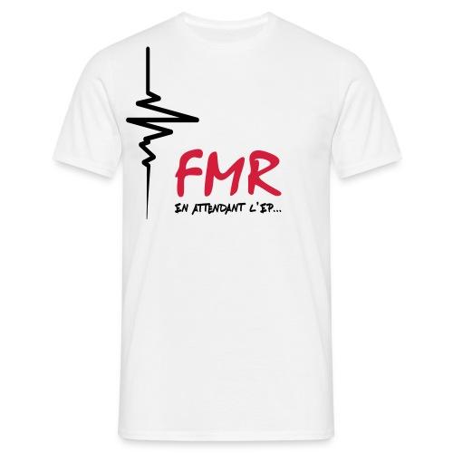 T-shirt FMR En attendant l'EP - Homme Uniquement Design Rouge & Noir - T-shirt Homme