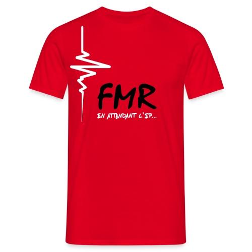 T-shirt FMR En attendant l'EP - Homme Uniquement - Design Noir & Blanc - T-shirt Homme