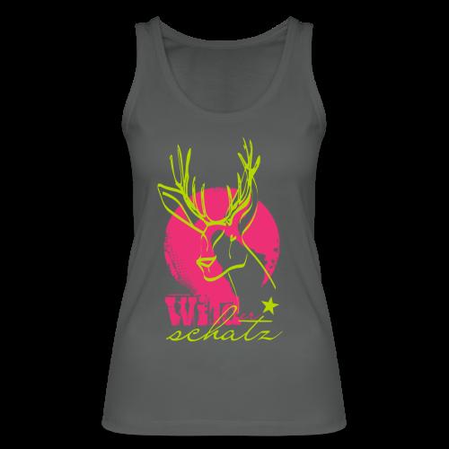 Wilder Schatz Waldbeere - Frauen Bio Tank Top von Stanley & Stella