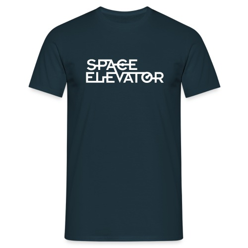 Space Elevator T-Shirt (male) - Men's T-Shirt
