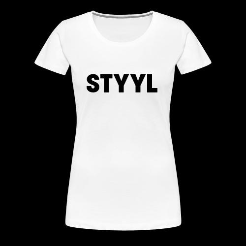 STYYL Women's Premium Tee - Women's Premium T-Shirt