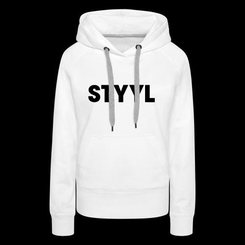 STYYL Women's Premium Hoodie - Women's Premium Hoodie