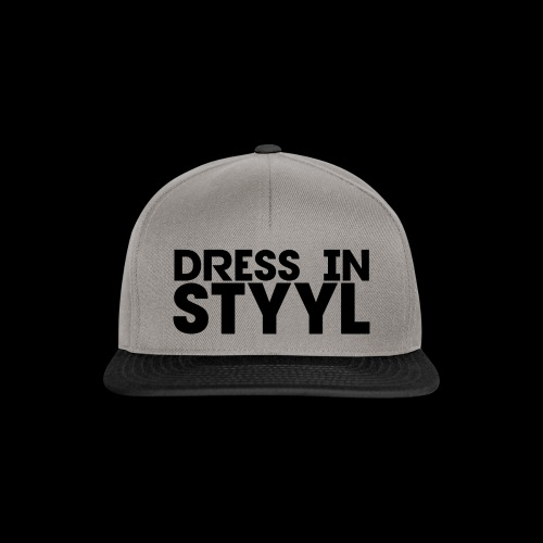 Dress In STYYL Snapback - Snapback Cap