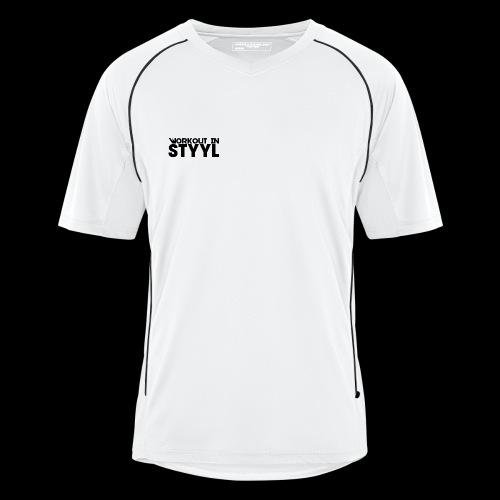 Workout In STYYL Small Logo Men's Football Jersey - Men's Football Jersey