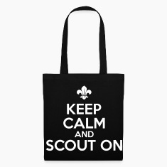 Keep calm and scout on Bags & Backpacks