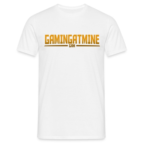 Gamingatmine T-Shirt (GOLD , MENS) - Men's T-Shirt