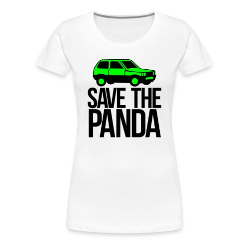 Save the Panda Womens - Women's Premium T-Shirt