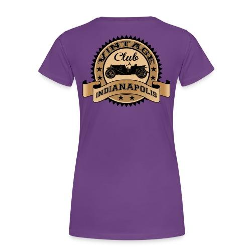Vintage Indianapolis Womens - Women's Premium T-Shirt