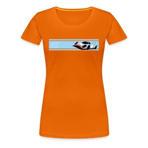 Porsche Gulf 917 Womens - Women's Premium T-Shirt