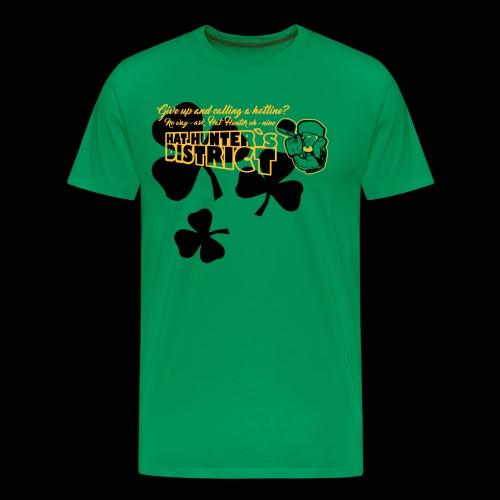 HatHunter`s District Slaínte - Männer Premium T-Shirt