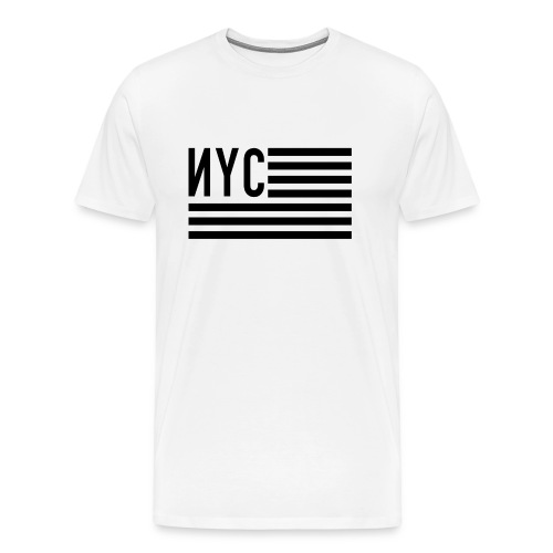 NYC flag - T-shirt Premium Homme