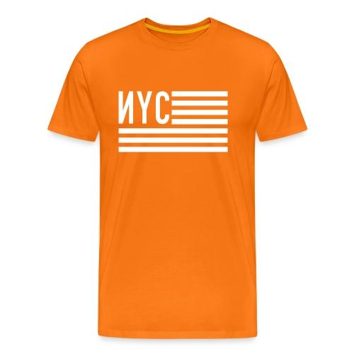 NYC flag II - T-shirt Premium Homme