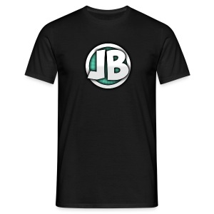 JBGamingHD Logo T-Shir0t [Mens] [Black] - Men's T-Shirt