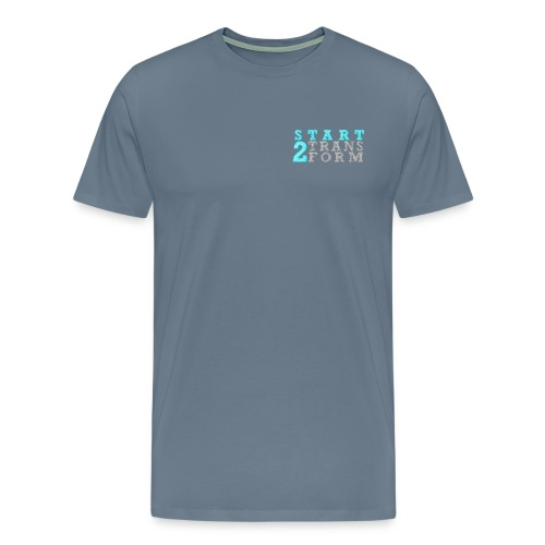 S2T Männer Premium grau - Männer Premium T-Shirt