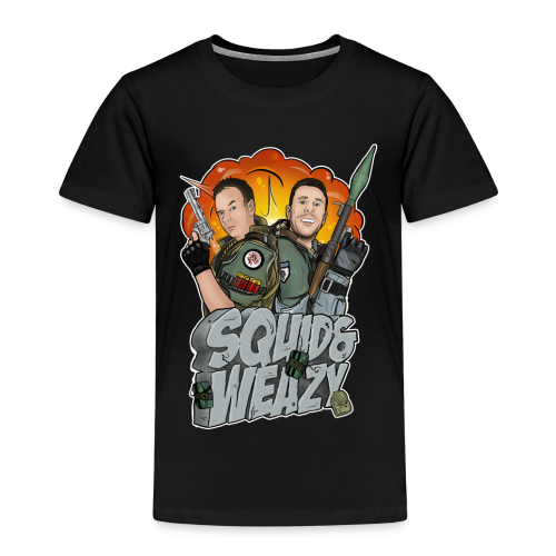 SQUID & WEAZY (KIDS) T-SHIRT - Kids' Premium T-Shirt