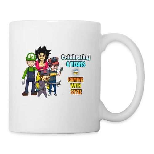 6 Years of Gaming (Celebration Mug) - Mug