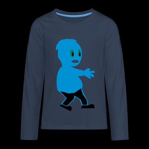 Duli - Teenager Premium Langarmshirt