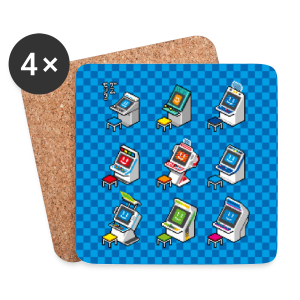 Pixelcandys - Coasters (set of 4)