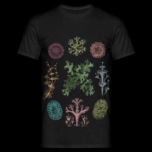 Haeckel lichen - T-shirt herr