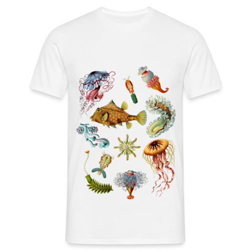 Haeckel div - T-shirt herr