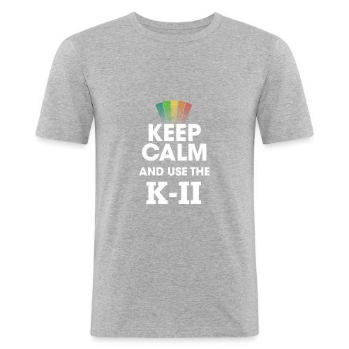 KEEP CALM KII (homme) - T-shirt près du corps Homme