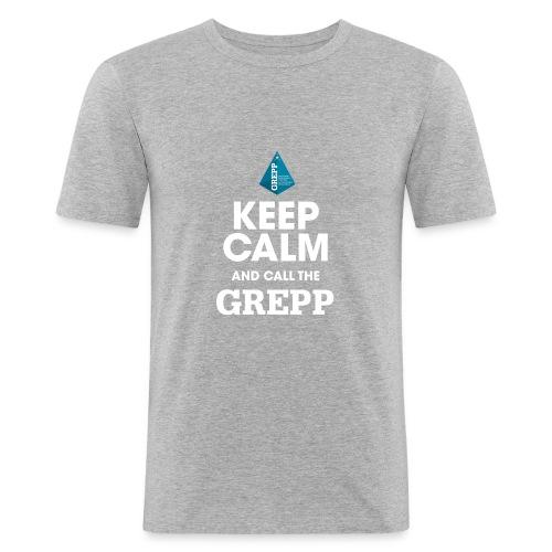 KEEP CALM GREPP (homme) - T-shirt près du corps Homme