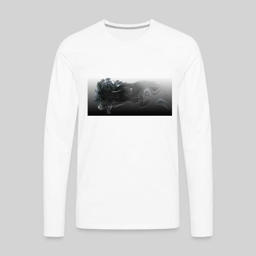 Herrenmode - Männer Premium Langarmshirt
