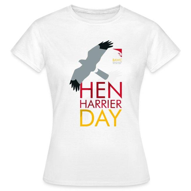 BAWC Hen Harrier Day Women's White T-Shirt