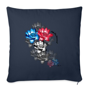 Loto-Spiritual - Sofa pillow cover 44 x 44 cm