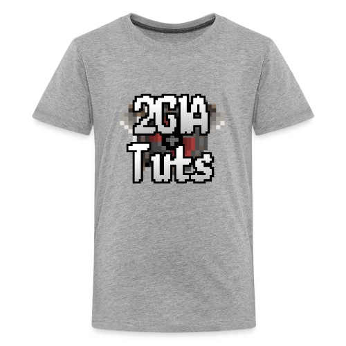 [Teenage] 2G1A TUTS  Logo - Teenager premium T-shirt