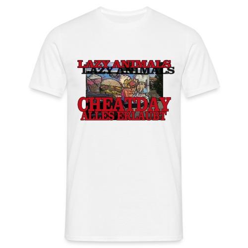 Cheatday - Männer T-Shirt