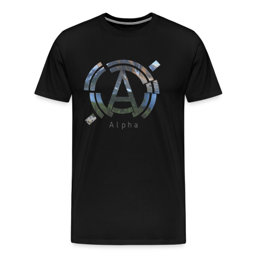 Men's AlphaOfficial Logo T-Shirt - Men's Premium T-Shirt
