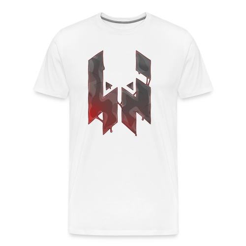 Liquify Logo Shirt Men [red logo] - Men's Premium T-Shirt