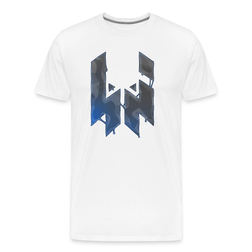 Liquify Logo Shirt Men [blue logo] - Men's Premium T-Shirt